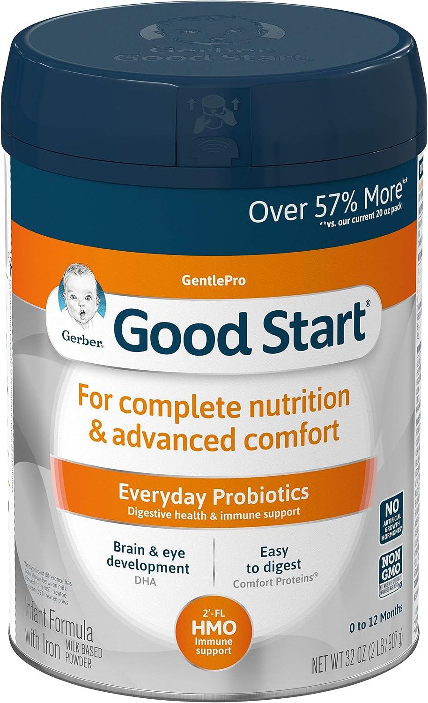 Gerber quality assurance Ranking TOP16 Good Start GentlePro HMO Powder Formula Non-GMO Infant