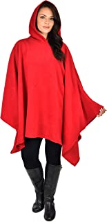 Women Poncho Style Hoodie Sweater Fleece Cover Up for Cold Weather