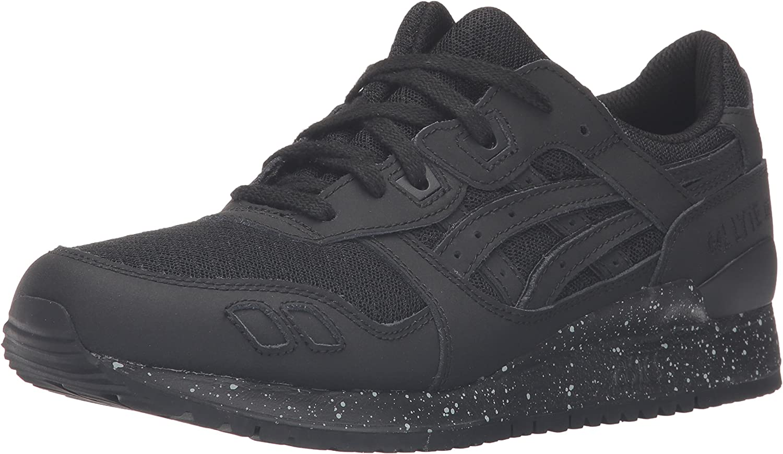 ASICS männens Gel -Lyte III Mode Mode Mode skor, svart  svart  svart  svart, 12 M USA  het försäljning