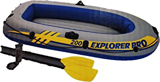 Intex Explorer Pro 200 Two Person Inflatable Boat Set