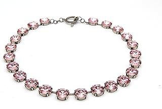 Celebrity Sarah Jessica Parker Pink Collet Anna Wintour Necklace