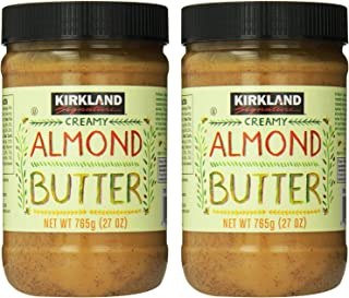 Kirkland Signature - Creamy Almond Butter, 27 Oz - 2 Jars