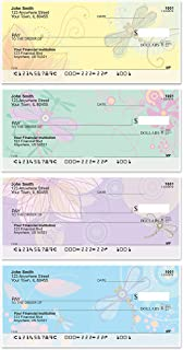 Garden Dragonflies Top Tear Value Priced Personal Checks (1 Box of Duplicates, Qty. 100)