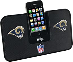 iHip Official NFL - ST LOUIS RAMS - Portable iDock Stereo Speaker with Wireless Remote NFV5000STR photo