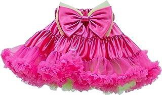 [天使のドレス屋さん]パニエ 子供ドレス 伝説のリボンブローチ付きカラフルアウターパニエのJSGFカラー ダンス衣装 発表会 キッズダンス衣装 コスチューム