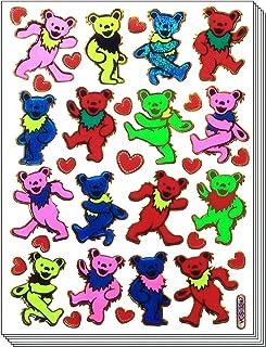 BearDance - 10 Sheets Dancing Bear Scrapbook Stickers Animal Scrapbook Stickers - Reflective Stickers - Animal Stickers fo...