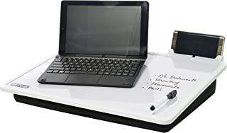 EZDesk Magnetic Dry Erase Lap Desk with Graph Ruling, Tablet Dock and Accessories, MDL. #E100, 14.17