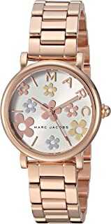 Marc Jacobs Women's 'Classic' Quartz Stainless Steel Casual Watch, Color:Rose Gold-Toned (Model: MJ3582)