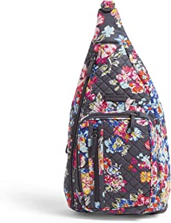 Vera Bradley Signature Cotton Sling, Pretty Posies