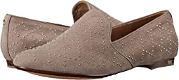 Preslie Kid Suede Slipper with Stud Detail