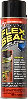 Flex Seal Spray Rubber Sealant Coating, 14-oz, Black (2 Pack)