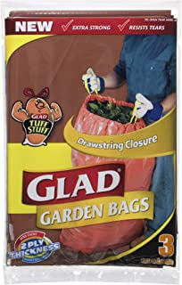Glad Glad Garden and Clean Up Bags,  3 count