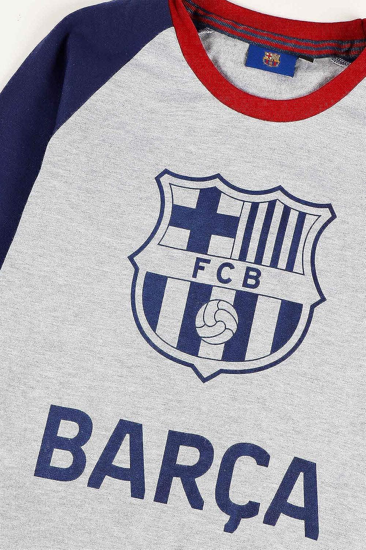 FC Barcelona Pijama Manga Larga FCB Escudo para Ni/ño