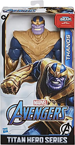 discount Avengers Marvel Titan Hero Series Blast Gear Deluxe Thanos Action outlet sale Figure, 12-Inch Toy, Inspired by Marvel Comics, wholesale for Kids Ages 4 and Up sale