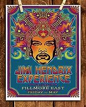 Jimi Hendrix- Music Poster Print