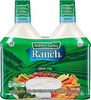 hidden valley ranch dressings