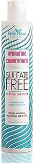Belle Azul - Balsamo Idratante Professionale - Qualità da Parrucchiere - Con Cheratina - Profondamente nutriente - Elastic...
