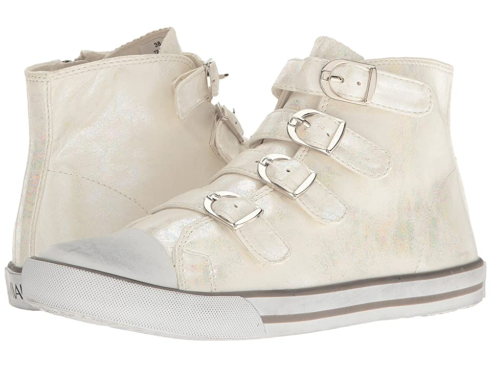 Amiana 15-A5172 (Toddler/Little Kid/Big Kid/Adult) (White Iridescent Wash) Girls Shoes