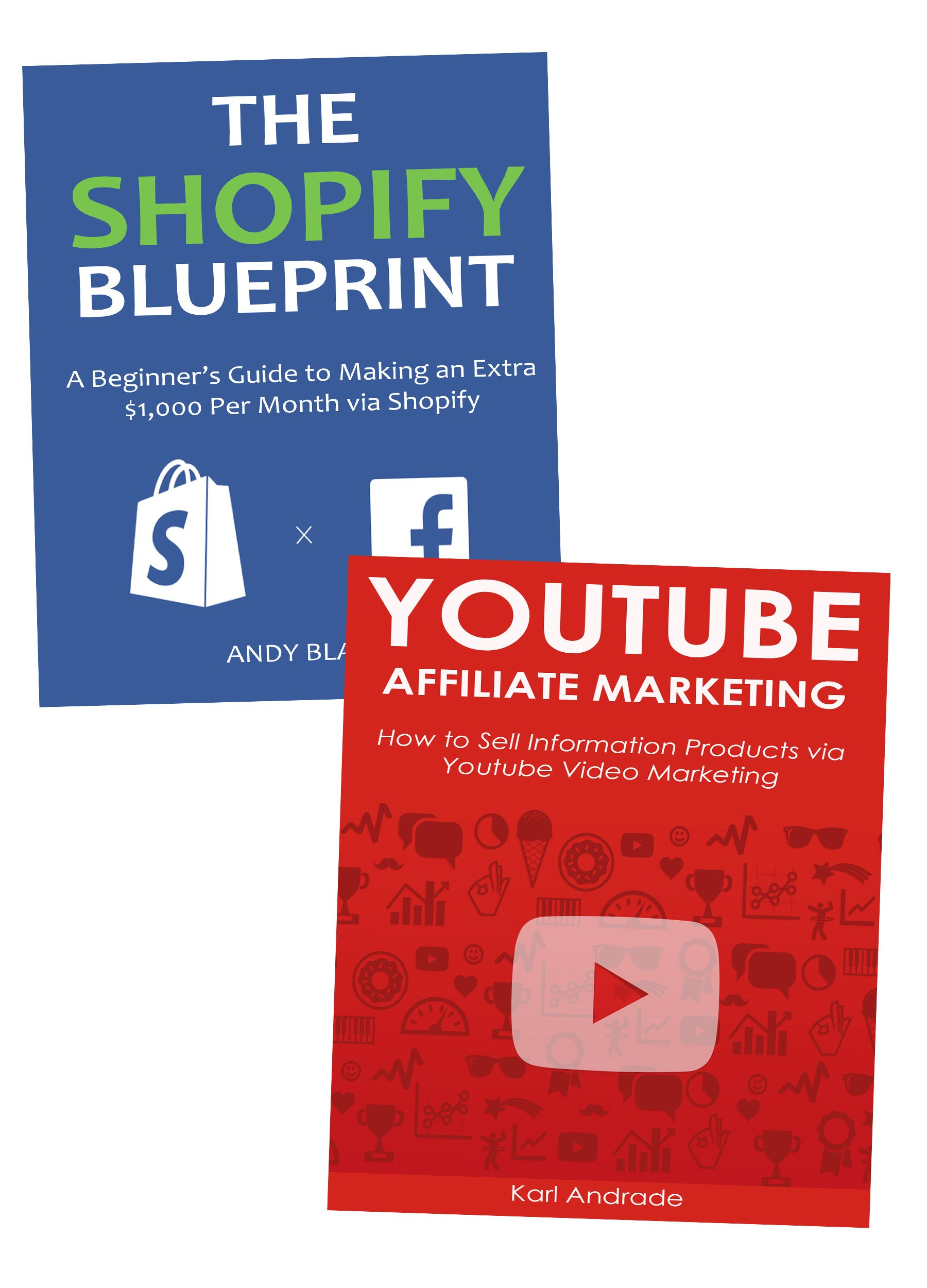 Semi-Passive Income Blueprints: Create a New Source of Income Outside Your Day Job. Shopify Ecommerce & YouTube Affiliate Marketing.