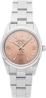 Rolex Air-King Mechanical (Automatic) Pink Dial Womens Watch 14000 (Certified Pre-Owned)