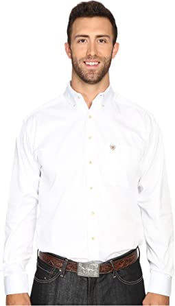 Big & Tall Solid Twill Shirt