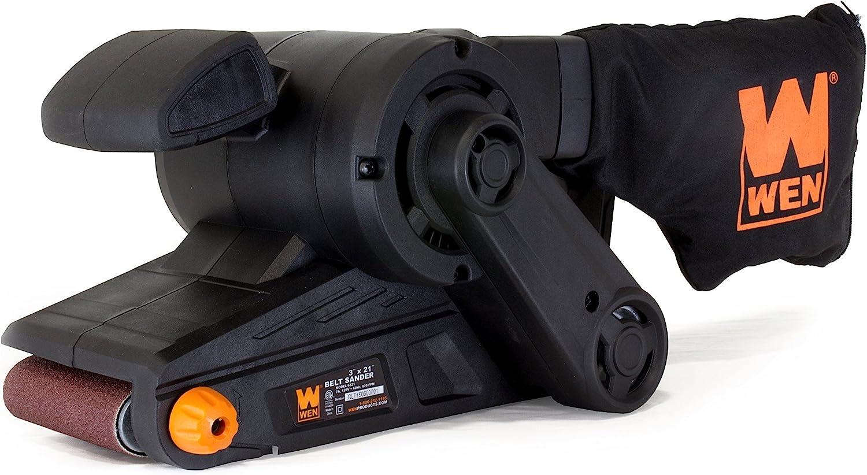WEN-6321-Corded-Belt-Sander-with-Dust-Bag