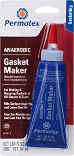 Permatex 51813-6PK Anaerobic Gasket Maker, 50 ml Tube (Pack of 6)