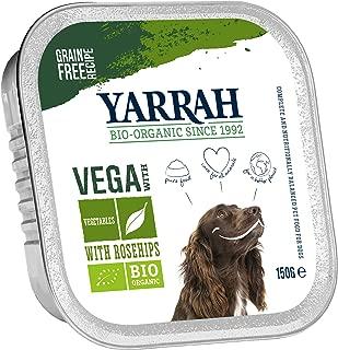 Yarrah Organic Dog Vegan/Vegetarian Chunks with Rose Hips 150g