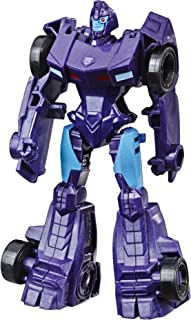 Transformers Cyberverse Action Attackers: Scout Class Shadow Striker Action Figure Toy
