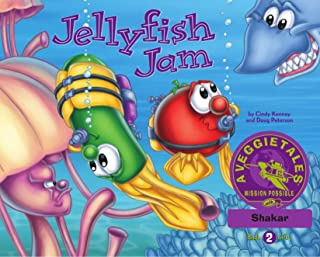Jellyfish Jam - VeggieTales Mission Possible Adventure Series #2: Personalized for Shakar (Boy)