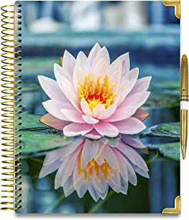 Tools4Wisdom Hardcover Daily Planner 2021-2022 - April 2021 to June 2022 Academic Calendar - 8.5 x 11 Hardcover w/ Pen - F... photo