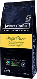JASPER COFFEE Fairtrade Organic PNG Okapa, 250 Grams