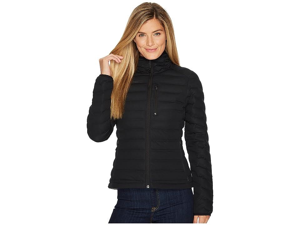 Mountain Hardwear StretchDown Hooded Jacket (Black) Women