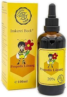 ImkereiBeck - Propolis Lösung / Tinktur / Tropfen mit 20% natürlichem Propolis in Imkerqualität direkt vom Imker 100ml - 20%