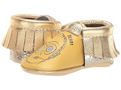 Freshly Picked Star Wars C-3PO Moccasin (Infant/Toddler) (Gold/Yellow/Multi) Kid