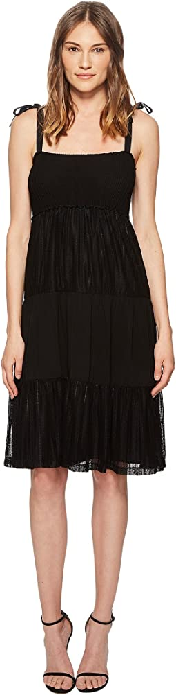 RED VALENTINO - Jersey Lace Dress