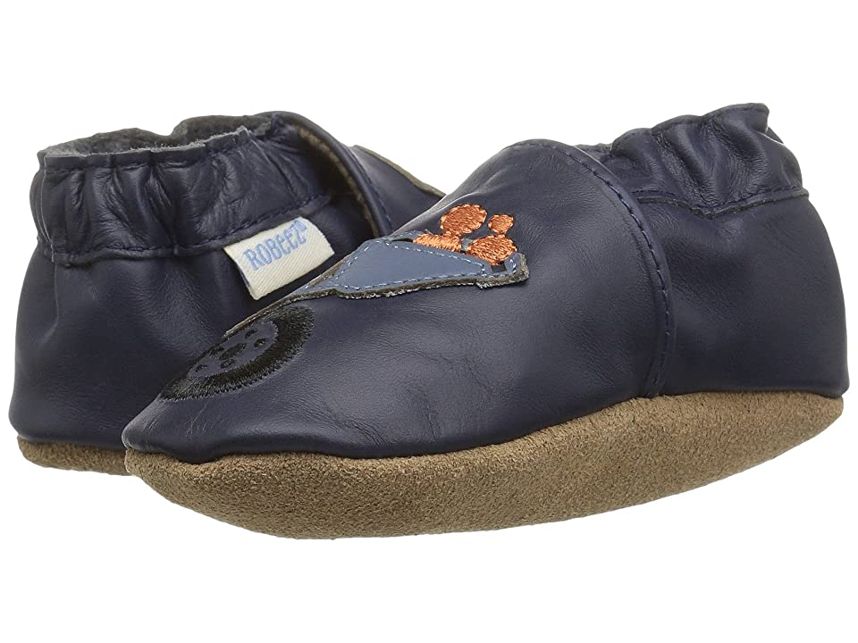 Robeez Big Dig Soft Sole (Infant/Toddler) (Navy) Boy