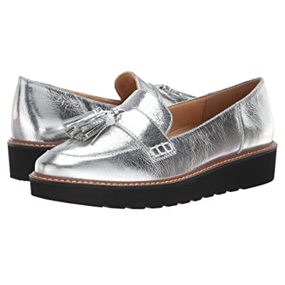 Naturalizer August (Silver Textured Foil Leather) Women