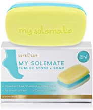 2 in 1 Foot Pumice Stone Foot Scrubber And Callus Remover Cracked Heel Treatment With Lemongrass Moisturizing Foot Soap - My Solemate