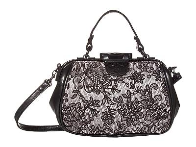 Patricia Nash Antica Frame (White) Handbags