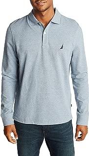 Men's Classic Fit Long Sleeve Piqué Polo