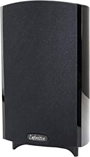 Best Definitive Technology ProMonitor 800 - 2-Way Satellite or Bookshelf Speaker for Home Theater Speaker System | Easy Mounting (Single, Black) Review