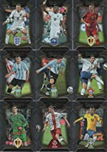 Panini SELECT Soccer 2015 2016 Series Complete Mint 100 Card Set Loaded with Your Favorite International Stars including Lionel Messi, Cristiano Ronaldo, Neymar, Wayne Rooney and Others