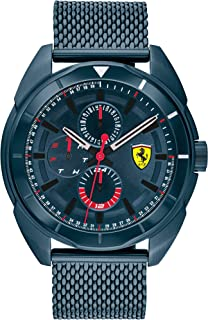 Scuderia Ferrari Men'S Blue Dial Ionic Plated Blue Steel Watch - 830638