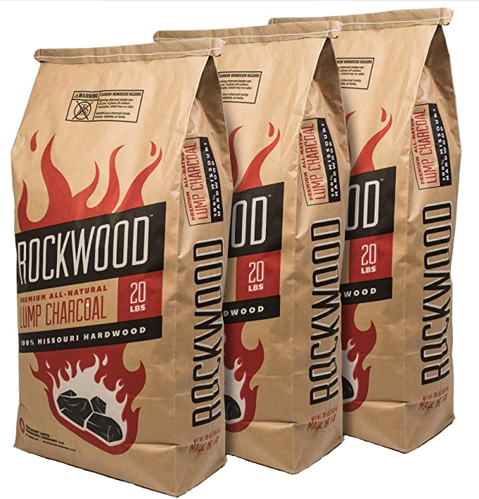 Rockwood All-Natural Hardwood Lump Charcoal – Best Flavored Charcoal