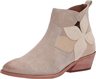 Frye Women's Farrah Floral Bootie Fashion Boot, Milkshake, 6.5