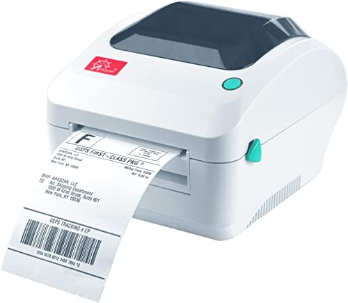 Arkscan 2054A Shipping Label Printer, Support Amazon Ebay Paypal Etsy Shopify ShipStation Stamps.com UPS USPS FedEx D...