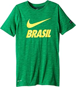 Brasil Dry-FIT Slub Tee (Little Kids/Big Kids)