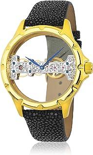 Reichenbach - Reloj Manual Woman Detjens Negro 40 mm
