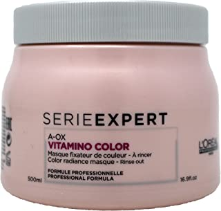 L'OREAL SERIE EXPERT A-OX VITAMINO COLOR-COLOR RADIANCE MASQUE, (new packaging), 16.9 Oz.